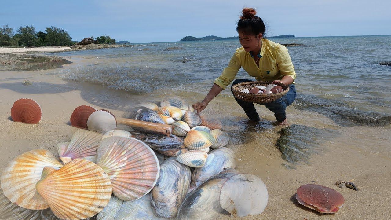 Survival Beach - Cooking Alien Sea Clam