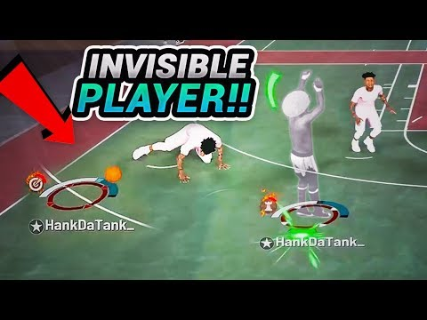 2K MADE MY PLAYER INVISIBLE - 1st EVER INVISIBLE 94 OVERALL DRIBBLE GAWD TAKES OVER THE PARK