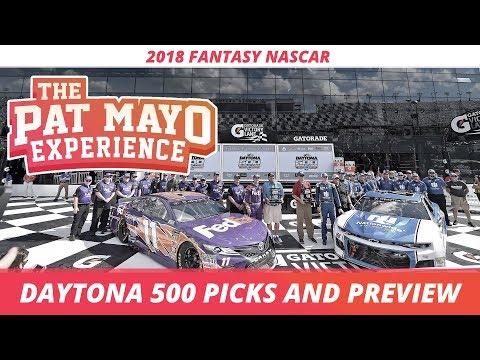 Fantasy NASCAR - 2018 Daytona 500 Picks, Preview and DraftKings NASCAR Strategy