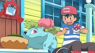El Ivysaur de Ash en La Liga de Alola?
