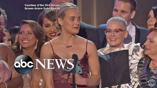 2017 SAG Awards | Stars Get Political