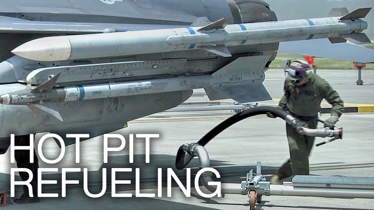 hot pit refueling refueling  jet engine running youtube