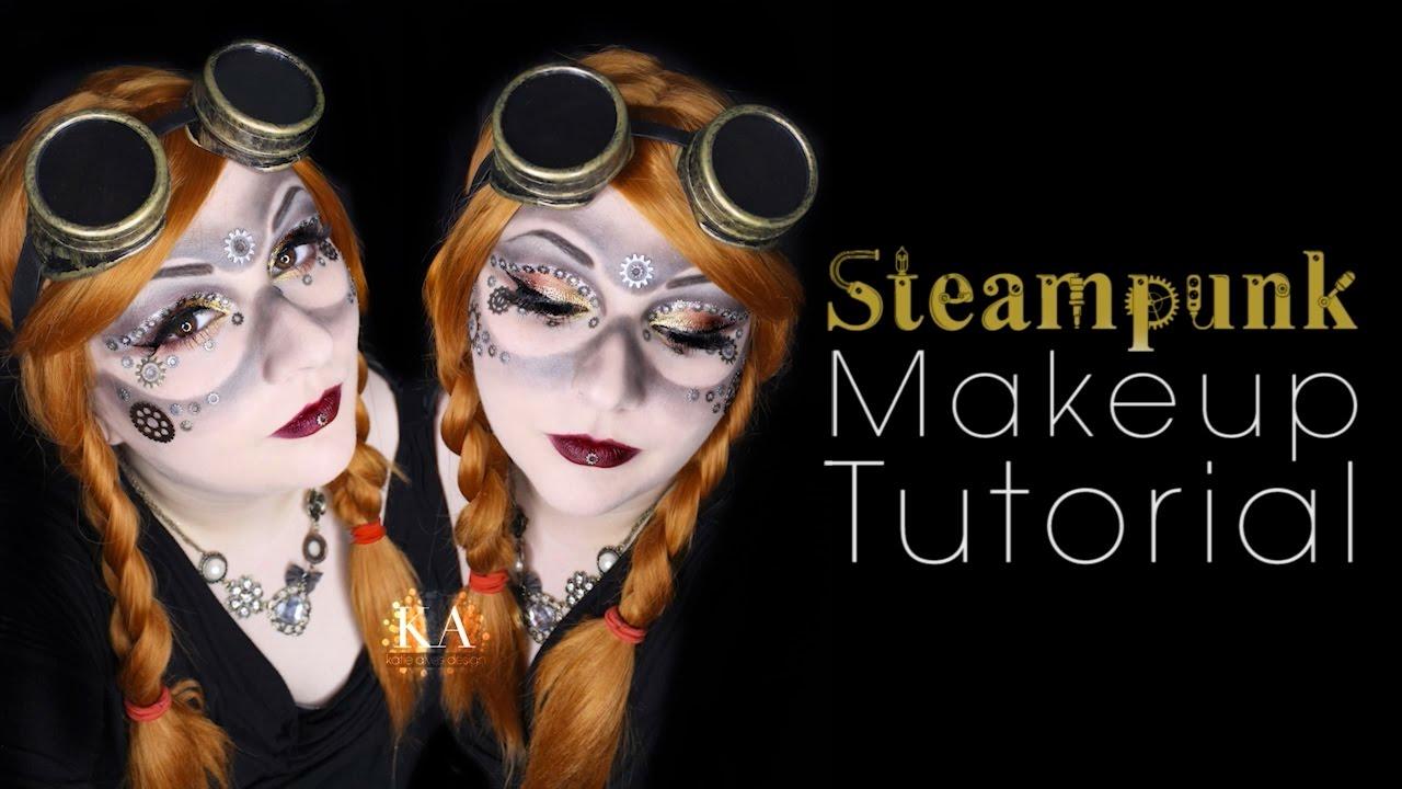 2ae3cd6d192 Steampunk Halloween Makeup Tutorial - 31 Days of Halloween - YouTube