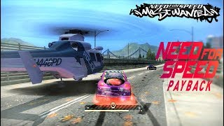 NFS MW Final Pursuit with VW Beetle (Abondoned Car in Payback)