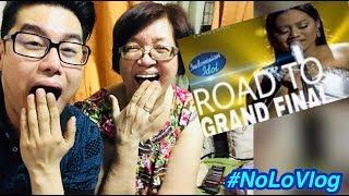 FILIPINA IBU DAN ANAK IN LOVE W/ MARIA   I HAVE NOTHING   INDONESIAN IDOL 2018 Live Reaksi NoLo Vlog