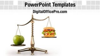 Create amazing presentations with eat healthy food powerpoint template and backgrounds. http://www.digitalofficepro.com/ppt/eat-healthy-food-powerpoint-templ...