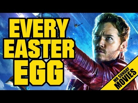 GUARDIANS OF THE GALAXY - Every Easter Egg & Reference