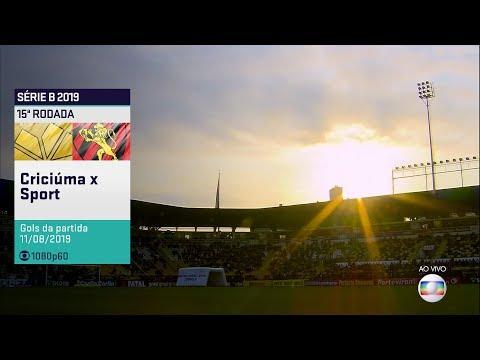 Globo HD⁶⁰ | Gol de Criciúma 1 x 0 Sport pela 15ª Rodada do Brasileirão Série B 2019