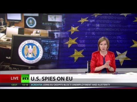 Germany, France outraged by US 'Cold War' spying web