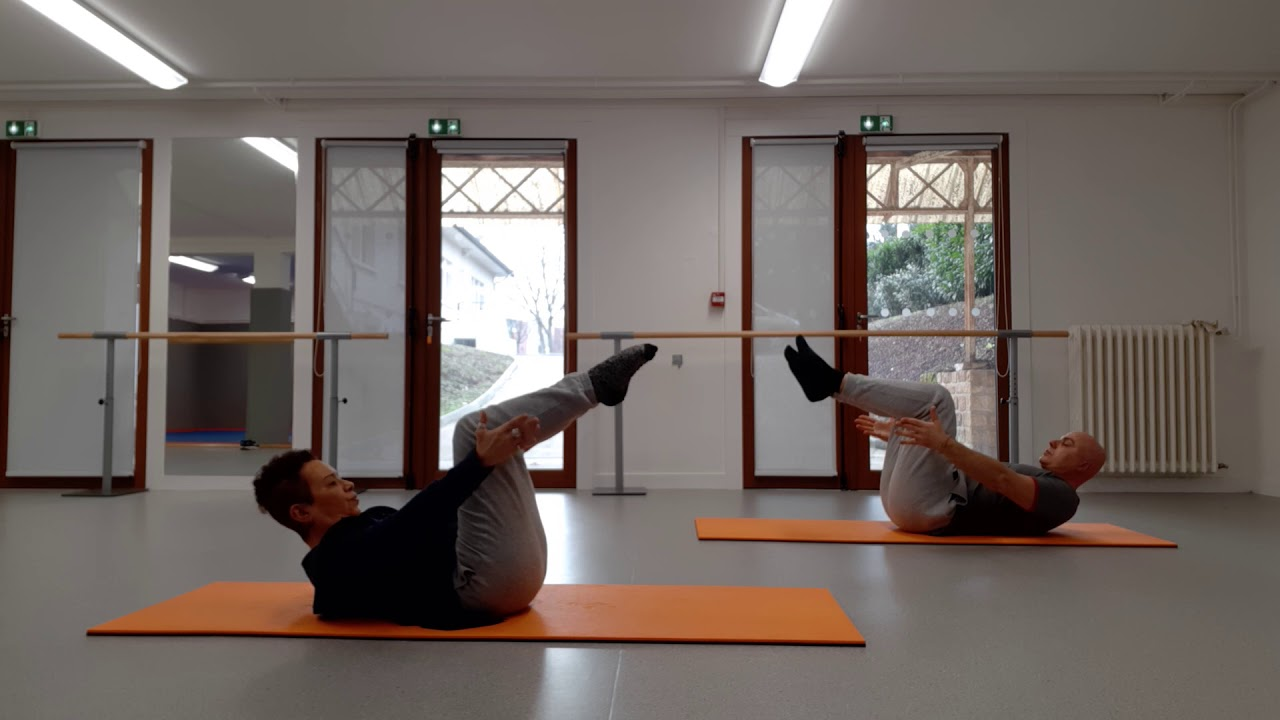 Un duo très sportif : Pilates