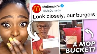 McDonald's Employee EXPOSES What They Do, McDonald's RESPONDS to Viral TikTok