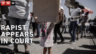 Reiger Park community members staged a silent protest outside the Boksburg Magistrates Court where a 35-year-old man made his first appearance on 21 October 2019 for allegedly sexually assaulting a two-year-old girl.