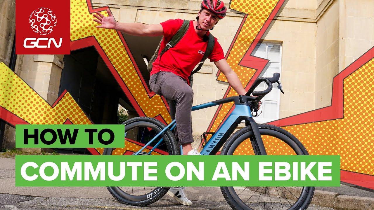 How To Commute On An E Bike   Tips For Cycling To Work By Electric Bicycle