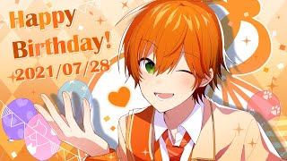 【カメラ枠!】ジェルの誕生日がきたぜええええ!!!【誕生日カウントダウン放送】