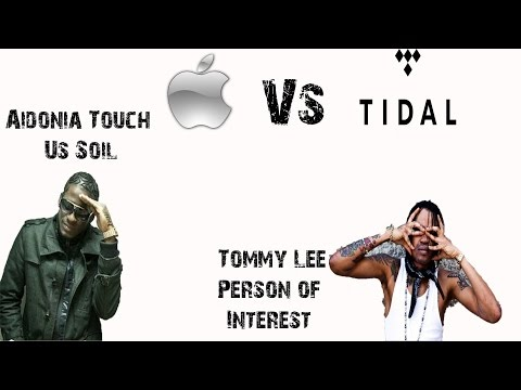 Tommy Lee person of interest Aidonia touch down on us soil while apple wants to buy Tidal