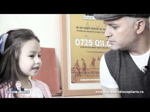 """Prevestiri- Angela Gheorghiu:""""Sunt talentată, n-am de ales!""""-partea a2-a (Rebecca Niculae, 4 ani)"""