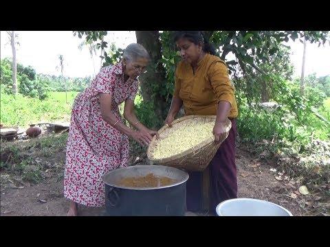 Chicken Sausage Macaroni Pasta Prepared By Grandma And Daughter ❤ Village Life