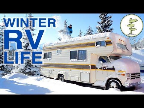 Couple Living in an RV in Winter & Living in a Van in Summer