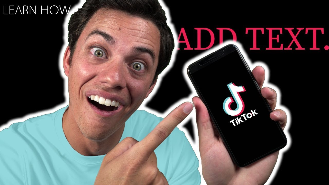 How to Add Text to TikTok Videos