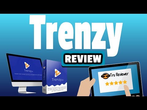 Trenzy Review with Amazing 50+ Bonus Pack - Build Viral Websites. http://bit.ly/2LdAI07
