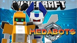 Minecraft MEDABOTS! (Roleplay Mod Showcase)