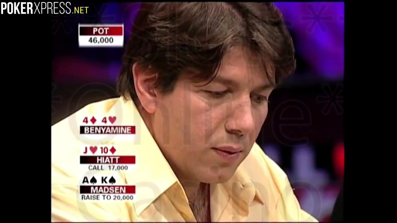 Poker strategies. Shana Hiatt's laydown against Jeff Madsen - PokerStrategyCashGameOnline