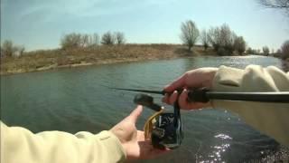 видео Рыбалка весной на Ахтубе в Селитренном
