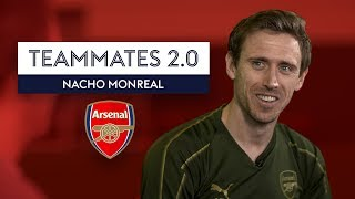 """Aubameyang is NOT a good dancer!"" | Nacho Monreal | Arsenal Teammates 2.0"