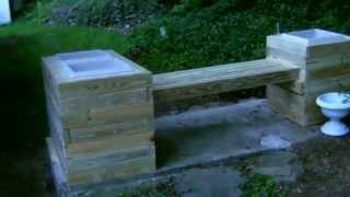 Epic Planter-bench Build Project