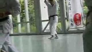 Kawasoe Masao Sensei 8.Dan Kata unsu (雲手)