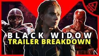 Everything You Missed in the Black Widow Trailer! (Nerdist News w/ Dan Casey)