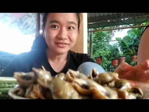 Vlog 14 – Thưởng thức ốc cà na xào bơ tỏi và sầu riêng hạt lép vàng ươm