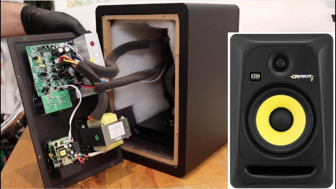 krk rokit 6 g3 a look inside youtube. Black Bedroom Furniture Sets. Home Design Ideas