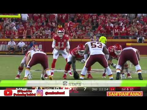 Alex Smith vs Redskins (MNF Week 4) - 349 Yards + 2 TDs! Clutch! MVP! | 2017-18 NFL Highlights HD