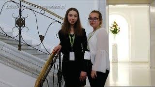Uczennice z Bolesławca obradowały w Sejmie Dzieci i Młodzieży w Warszawie