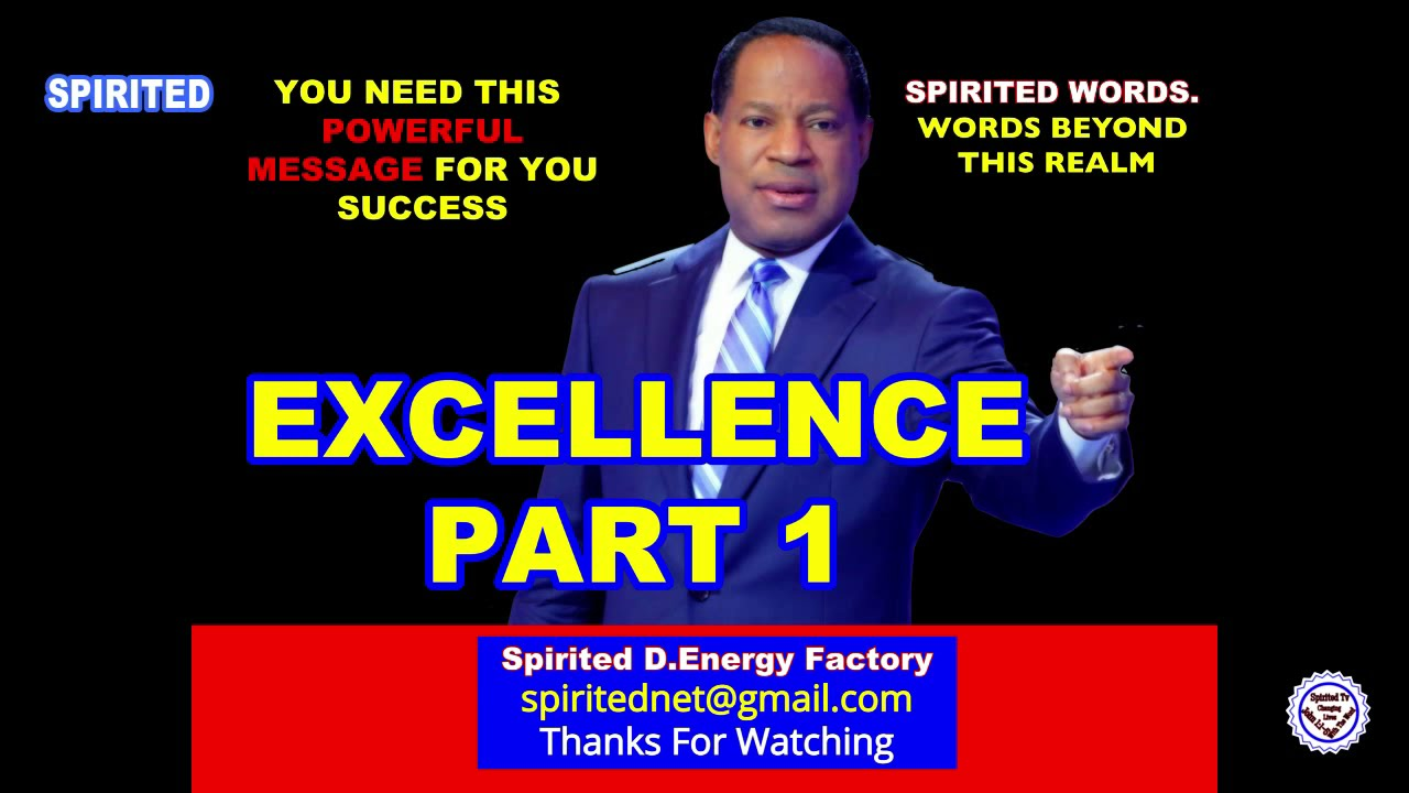 Download PASTOR CHRIS OYAKHILOME TEACHING: EXCELLENCE PART 1 (A MUST WATCH)