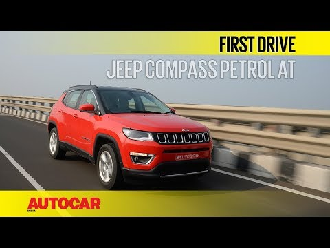 Jeep Compass Petrol AT | First Drive | Autocar India