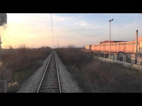 Train Driver's view: railroad in Serbia from Crveni Krst to Trupale - SERBIAN RAILWAYS