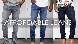 THE BEST AFFORDABLE JEANS!