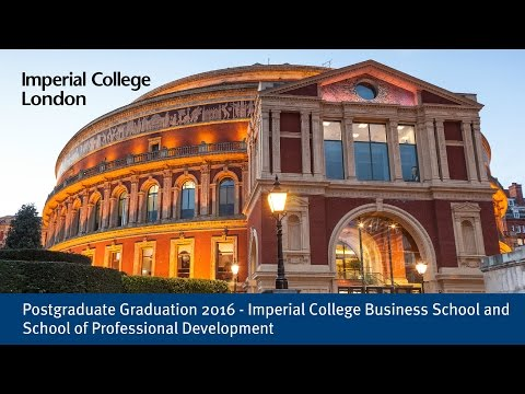 Postgraduate Graduation 2016: Business School and School of Professional Development