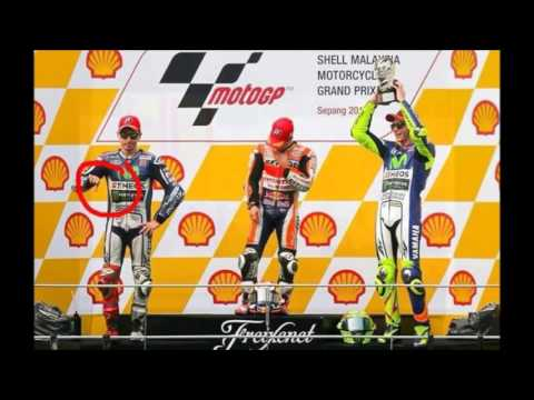 """Jorge Lorenzo show thumbs down Rossi - Respect """"the doctor"""""""