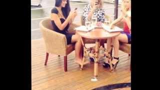 Оля Савченко (каникулы в мексике) в клипе Желудя