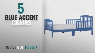 Top 10 Blue Accent Chairs [2018]: Dream On Me Classic Toddler Bed in Blue