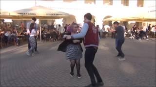 Вильнюс: молодёжь танцует