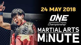 Martial Arts Minute   24 May 2018