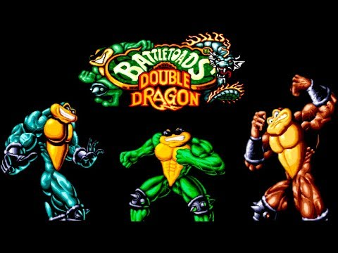 Battletoads And Double Dragon прохождение (Sega Mega Drive, Genesis)