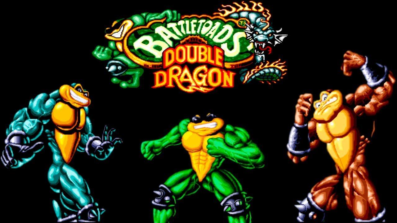 Battletoads And Double Dragon прохождение (Sega Mega Drive, Genesis)