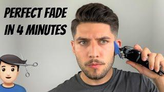 Perfect Fade Self-Haircut Iฑ 4 Minutes | How To Cut Men's Hair 2020