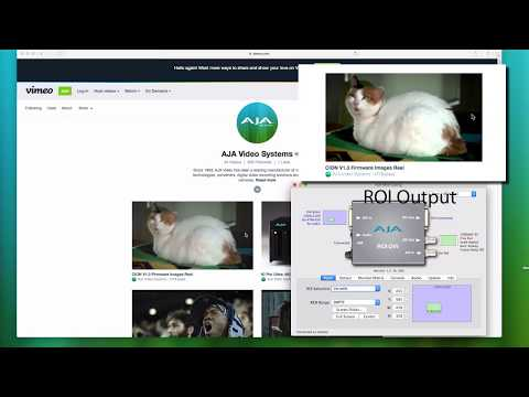 AJA Quick Start Videos: ROI Scan Converters