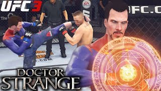 Dr. Strange Has Magic Combos! Is That Floyd Mayweather?! EA Sports UFC 3 Online Gameplay